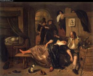 JanSteenThe Drunken couple