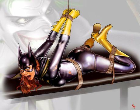 Superherosaturday_Batgirl 02-b by RaffaeleMarinetti
