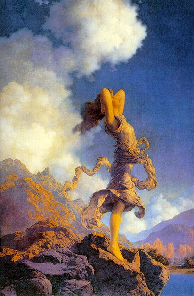 Ecstasy ~ Maxfield Parrish