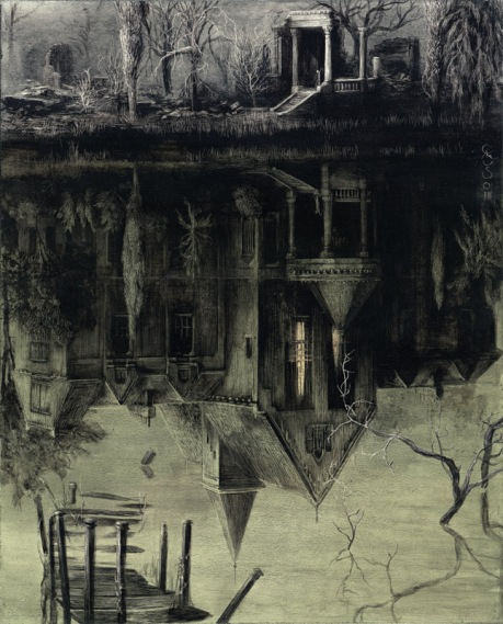 "Santiago Caruso ""Spectral House"""