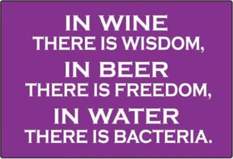 Saturdaywine-beer-water