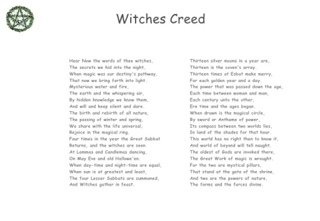 witchescreed