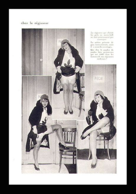 Jambes Et Attitudes_leg fetish magazine