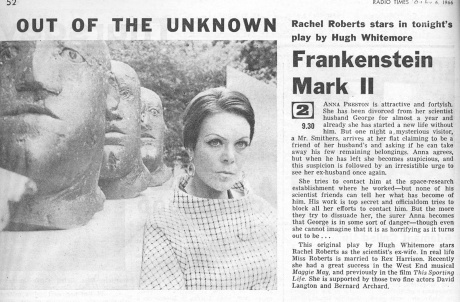 Out Of The Unknown_ Frankenstein Mark II