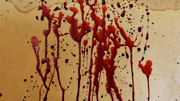 bloodonwall
