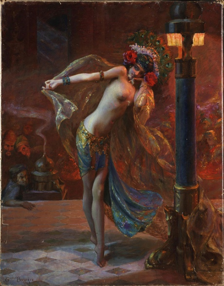 Dance of the Seven Veils by Gaston Bussière, 1925
