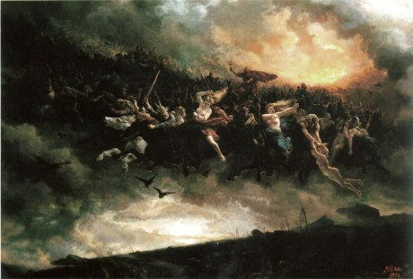 "Norse Gods off to rape, pillage and enjoy""Lørdag"""