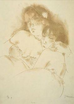 Jeanne Mammen (1890-1976) Siesta