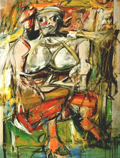 woman-i-Willem de Kooning