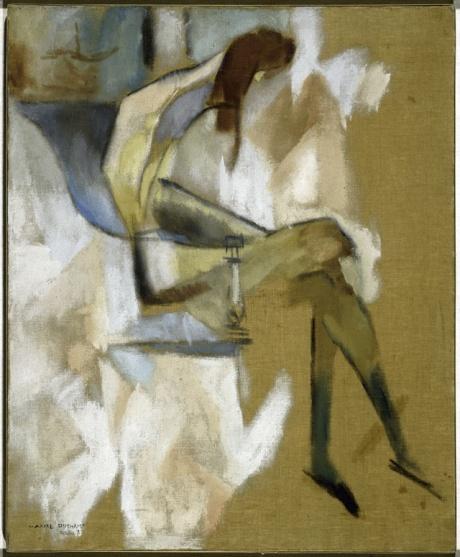 """Marcel Duchamp, """"À propos de jeune soeur"""""""
