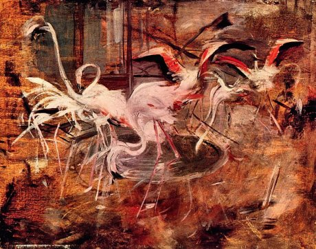 Giovanni Boldini, Ibis in the Palazzo Rosa at Vesinet