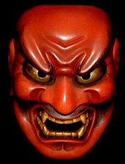 mask of an evil demon