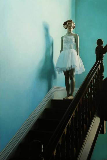 On The Stairs by Shaun Downey