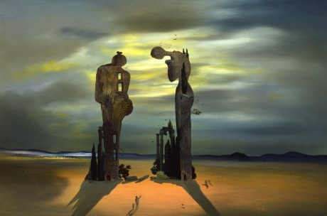 """Salvador Dali -""""Archeological Reminiscence of Millet's 'Angelus.'"""