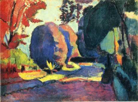 The Luxembourg Gardens - Matisse Henri