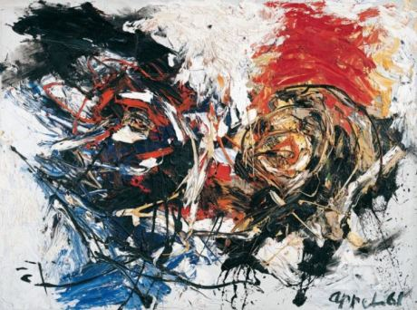 Karel Appel - Face in a Landscape