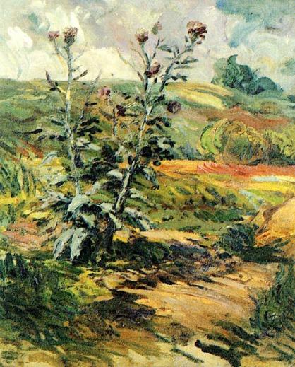 Thistles - Vincent van Gogh