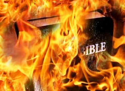 A burning_bible