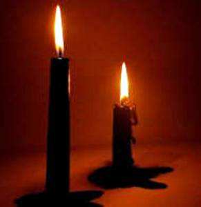 A BLACK CANDLE