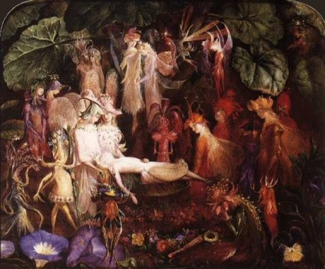 John Anster Fitzgerald_The Fairy Funeral