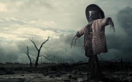 a-scarecrow