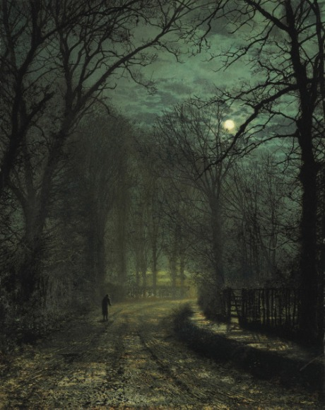 a-yorkshire-lane-in-november-1873-grimshaw
