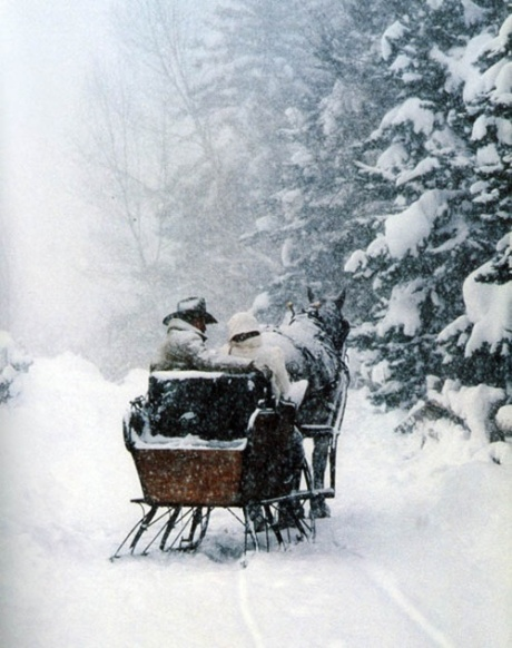 a-ride-in-the-snow