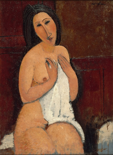 modigliani-seated-nude-with-a-shirt