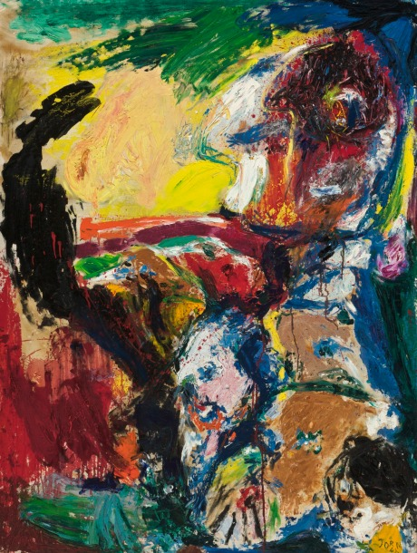 Asger Jorn - The suicide of Mr H