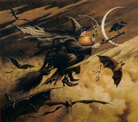 witch - Charles Wysocki