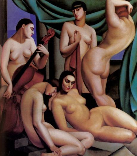 Tamara De Lempicka - Le Rythme, 1924