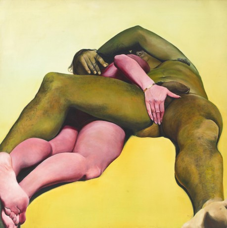 "Joan Semmel, ""Erotic Yellow"""