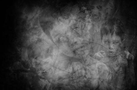 a boy ghost