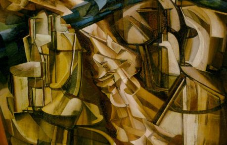 The King and Queen Surrounded by Swift Nudes, by Marcel Duchamp